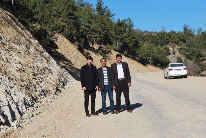 Başkan Bilal Demirci: Köy Yollarında Genişletme Ve Onarım Çalışması Tamamlandı