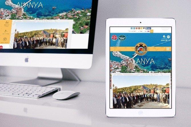 Alanya Belediyesi Web Sitesini Yeniledi