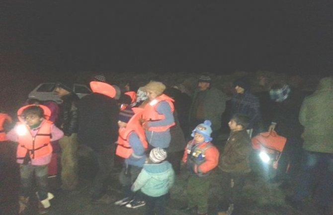 Didim'de 39 Suriyeli kaçak göçmen yakalandı