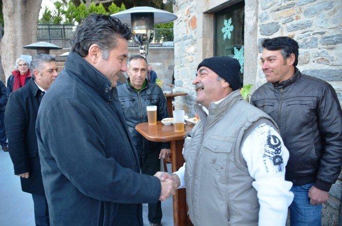 Başkan Kocadon, Personelinin Yeni Yılını Kutladı