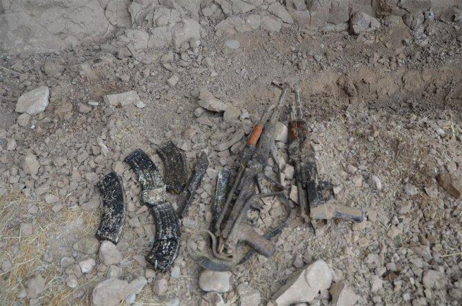 Batman'da PKK'ya ait mühimmat ele geçirildi