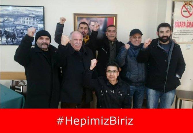 Türk Metal Sendikası üyelerinden arkadaşlarına sosyal medyadan destek