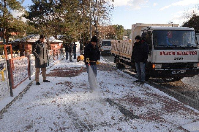 Karlı Ve Buzlu Yollar İçin Solüsyon