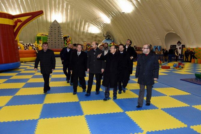 Bilal Erdoğan Balıkesir'deki çocuk köyünü gezdi