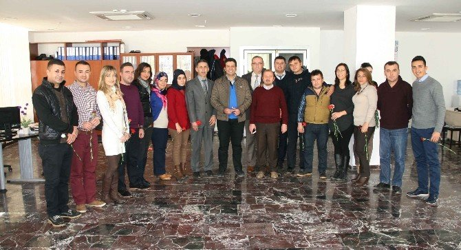 Başkan Genç, Belediye Personelinin Yeni Yılını Kutladı