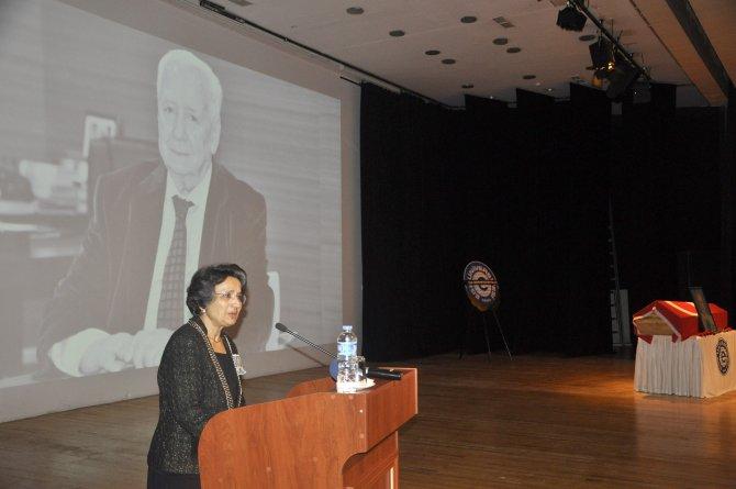 Ege Üniversitesi eski rektörlerinden Refet Saygılı defnedildi