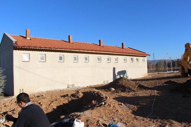 Esire Termal Tesisleri'ndeki Yeni Apart Odalar 15 Gün Sonra Hizmete Girecek