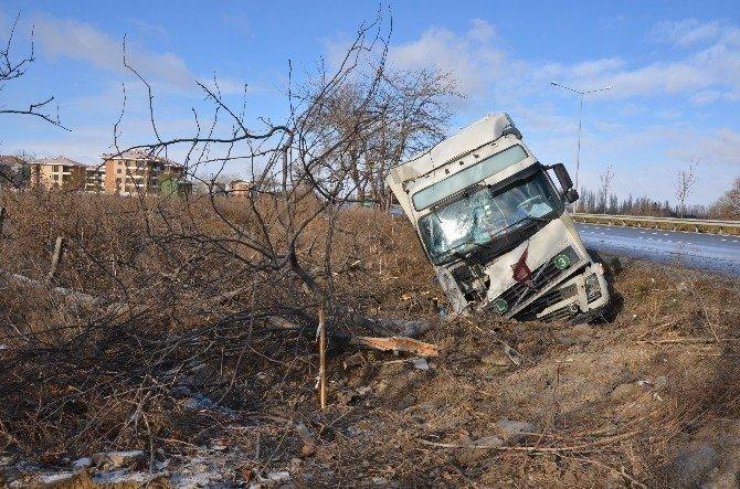 Eskişehir'de Trafik Kazası: 1 Yaralı
