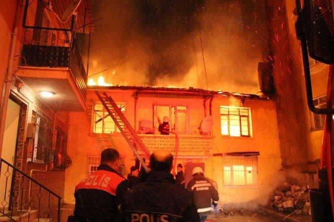Bursa'da Alevli Gece...