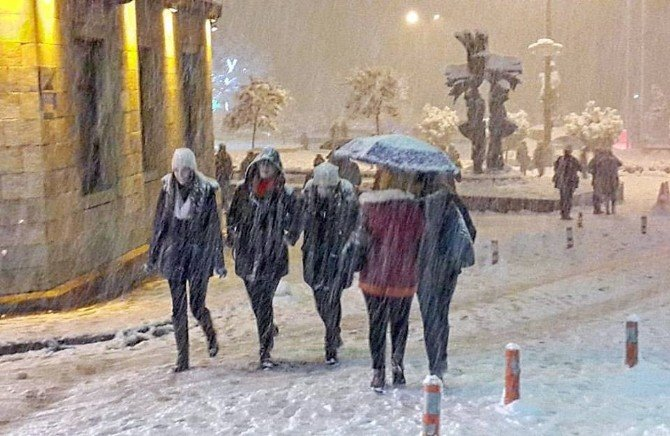 Giresun Yeni Yıla Karla Giriyor