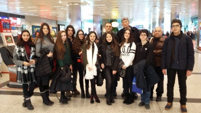 İkal Öğrenci Ve Öğretmenleri Almanya'ya Gitti