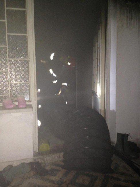 Sakarya'da Ev Yangını