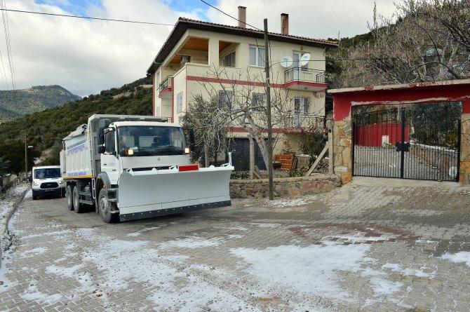 İzmir Büyükşehir'den kar teyakkuzu