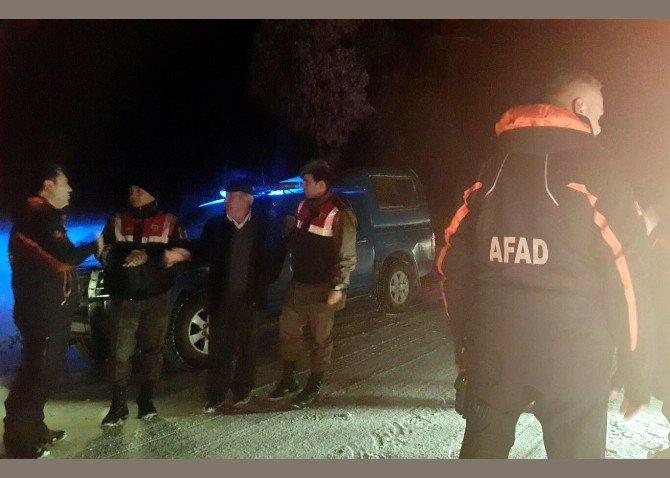 Bilecik AFAD, Mahsur Kalan Vatandaşları Kurtardı