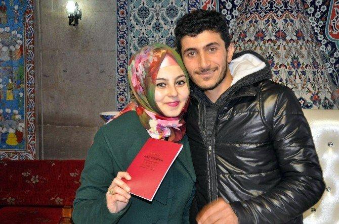 Nevşehir'de Yılın Son Nikahı Kıyıldı