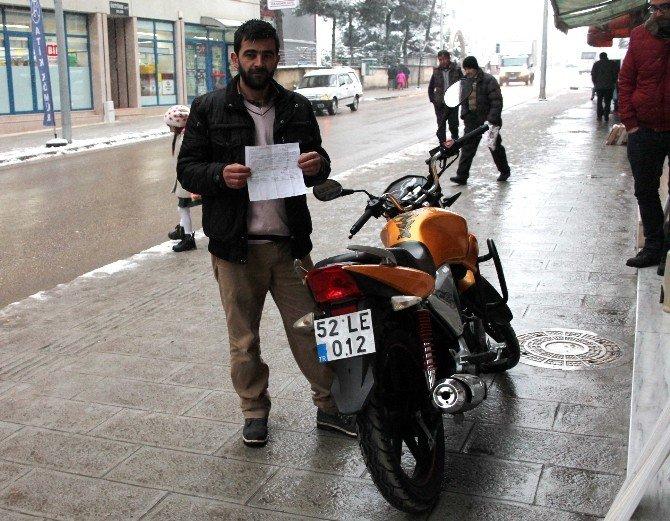Gitmediği İstanbul'da Trafik Cezası Yedi