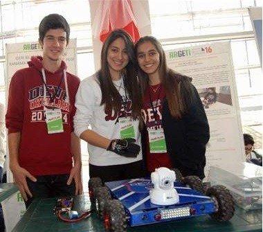 Deva Öğrencilerinden Engelli Robot Arabası