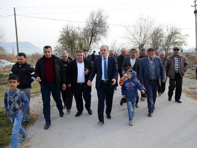 Başkan Gürlesin'den Güzelköy Mahallesi'ne Cemevi