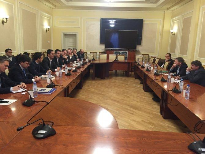 Türk iş adamları ve Putin'in temsilcisi Moskova'da bir araya geldi