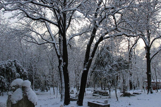 Samsun'dan Kartpostallık Kar Manzaraları