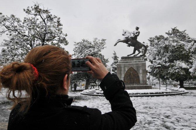 Anıt Park'ta kartpostallık manzara
