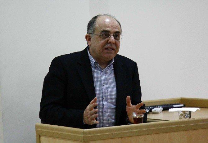"""SAÜ'de """"Sosyolog Perspektifiyle Tarih - Sosyoloji İlişkisi"""" Adlı Bir Konferans Düzenlendi"""