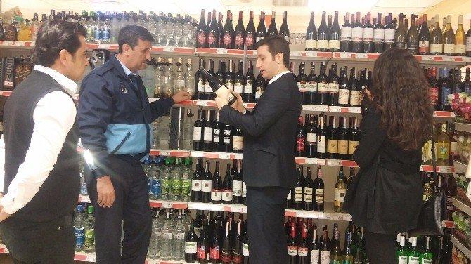 Seyhan Belediyesi'nden 'Sahte İçki' Denetimi