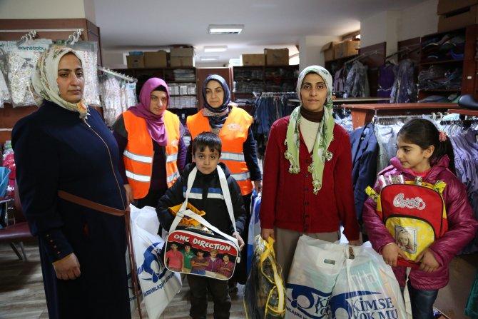 Sokağa çıkma yasağı uygulanan Sur mağdurlarına Kimse Yok mu'dan yardım