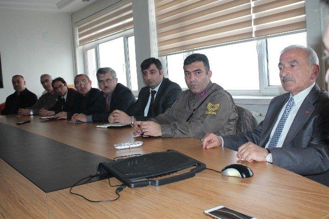 Tosya'da Uyuşturucuyla Mücadele Toplantısı Yapıldı