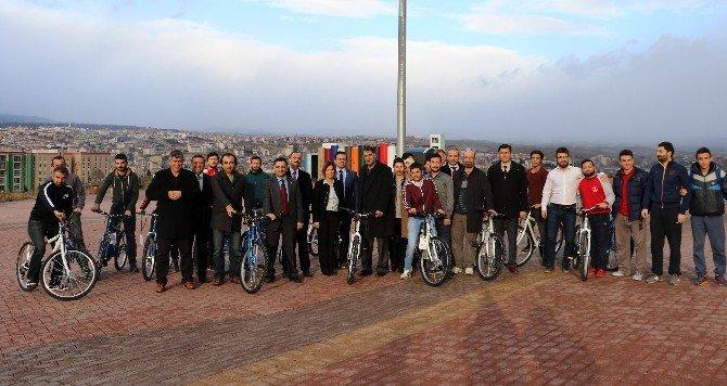 KBÜ Bisiklet Kullanımını Teşvik Ediyor