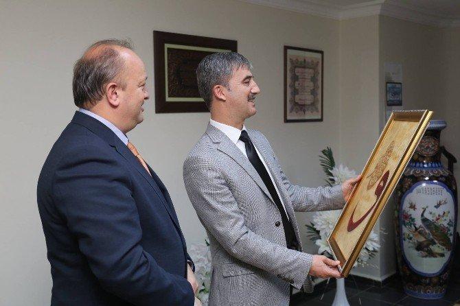 Urganlı İmam Hatip'ten Başkan Şirin'e Teşekkür Ziyareti