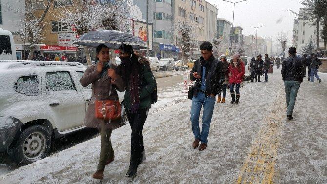 Van ve Hakkari'de 377 köy yolu kardan kapandı