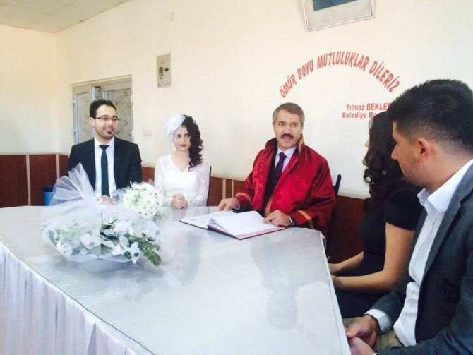 Başkan Bekler Yılın Son Nikahını Kıydı