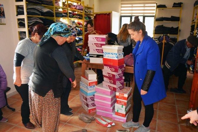 330 aile yeni yıla yeni ayakkabıları ile girdi