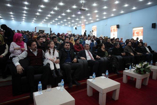 Ağrı İbrahim Çeçen Üniversitesi'nde Türk Dünyası Kültür Günü etkinliği