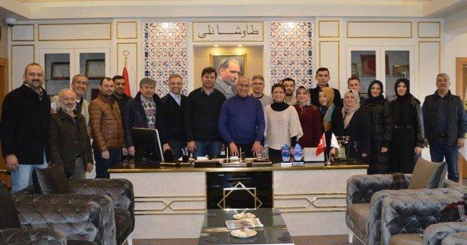 AK Parti'den Başkan Güler'e Tebrik Ziyareti