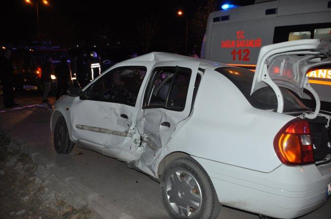 Ankara'da yeni yılın ilk kazası: 4 yaralı
