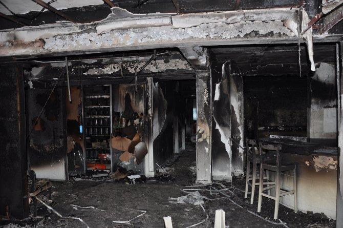 Klima patladı, ATSO Başkanı Çetin'in evi yandı