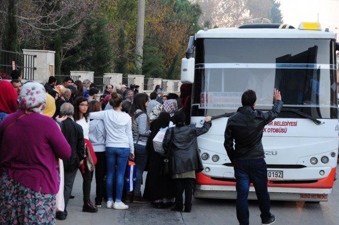 Toplu taşımada kartlar iptal, vatandaş mağdur