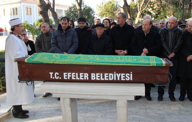 Aydın Gazeteciler Cemiyeti Onursal Başkanı Çezik defnedildi