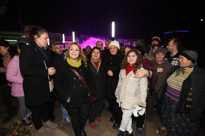 Başkan Çerçioğlu, 2016'yı Vatandaşlarla Birlikte Karşıladı