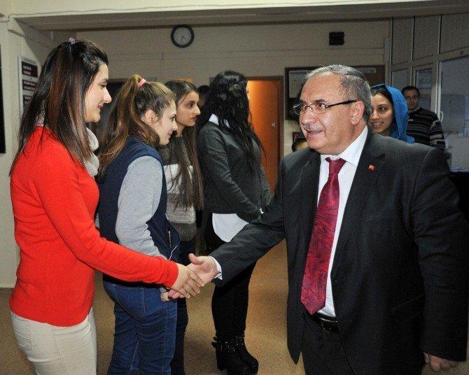 Vali Nayir'dan Yeni Yıl Ziyaretleri