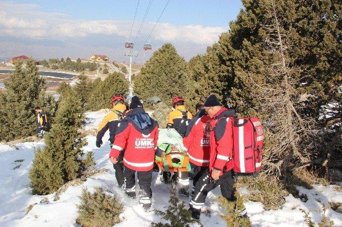 Ergan Dağı'nda Kurtarma Tatbikatı Gerçeği Aratmadı