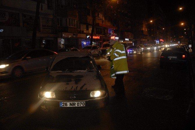 Eskişehir'de Yılın İlk Trafik Uygulaması