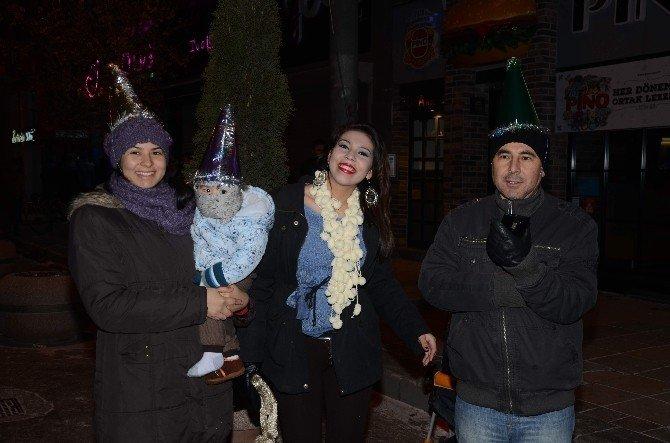 Eskişehir Yeni Yıla Böyle Girdi