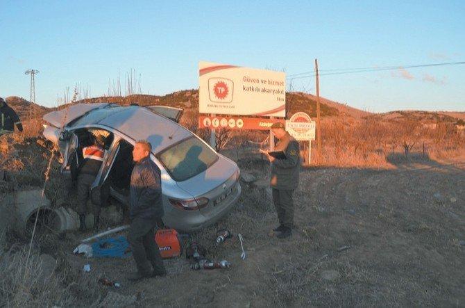 Afyonkarahisar'daki Kazada Yaralanan Belediye Çalışanı Hayatını Kaybetti
