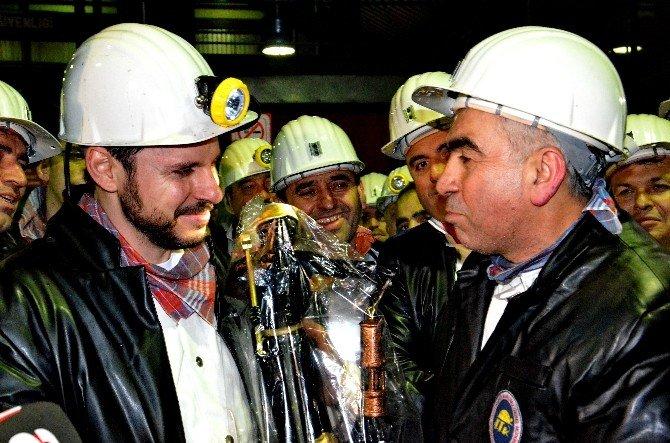 Bakan Albayrak'tan Madenciye Müjde