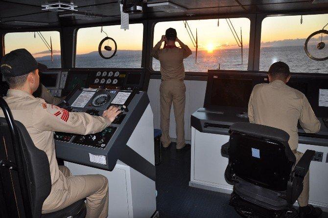 Sahil Güvenlik Ekipleri Yeni Yılda Görev Başındaydı