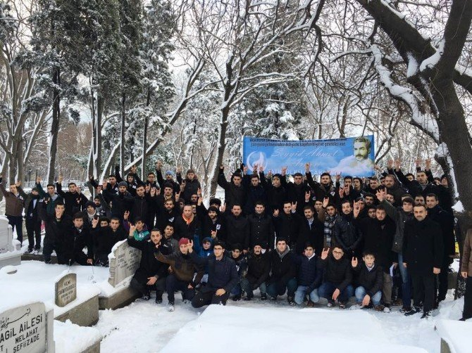 Ülkücüler Ahmet Arvasi'yi Dualarla Andı