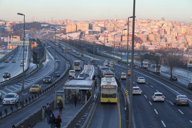 İstanbul trafiğinde yılbaşı rahatlığı